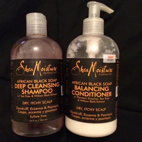 Hair Holy Grail: Shea Moisture African Black Soap Shampoo & Conditioner
