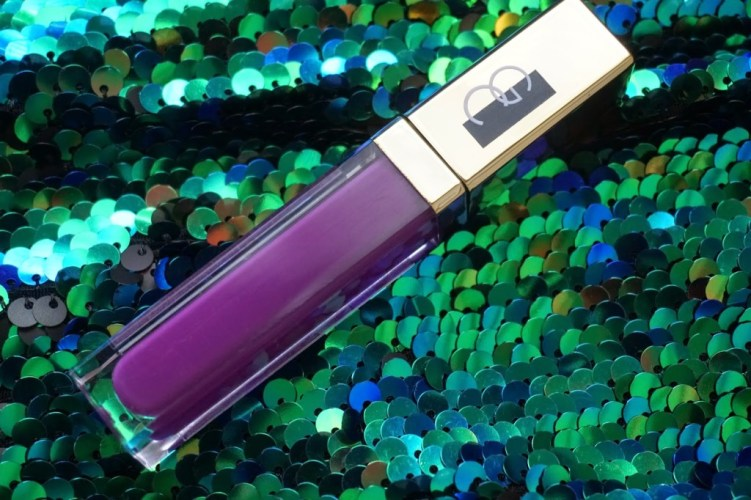 Swatched: Gerard Cosmetics Lipgloss in Wild Orchid