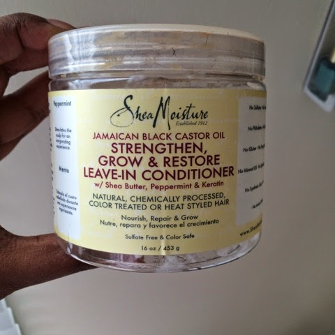 Quick Review: Shea Moisture Jamaican Black Castor Oil Leave-In Conditioner & Styling Lotion