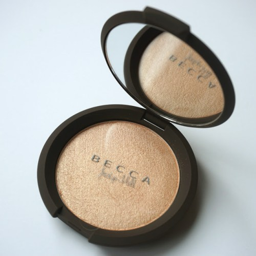 """Quick Review: Becca x Jaclyn Hill """"Champagne Pop"""" Shimmering Skin Perfector [Swatched on Brown Skin]"""