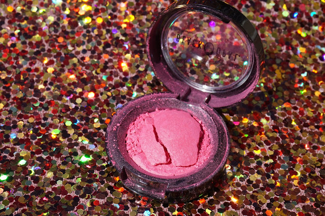 Shimmery Pink Baked Blush