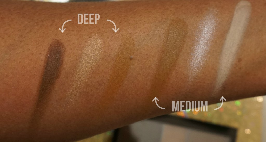 NYX-cream-highlight-contour-palette-swatches