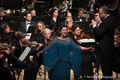 with Evanston Symphony