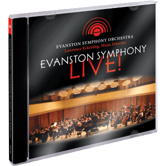 Evanston Symphony Live Album Art