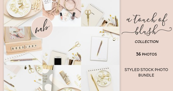 A Touch of Blush Collection