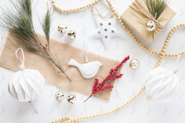 Styled Stock Photo - Scandi Style Christmas #01