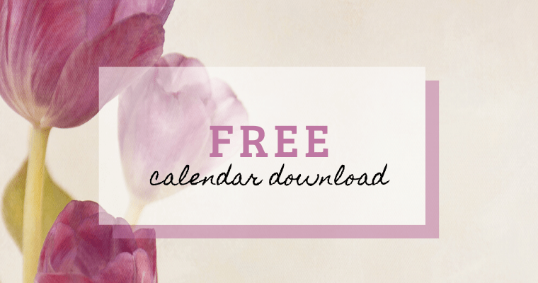 Free calendar download