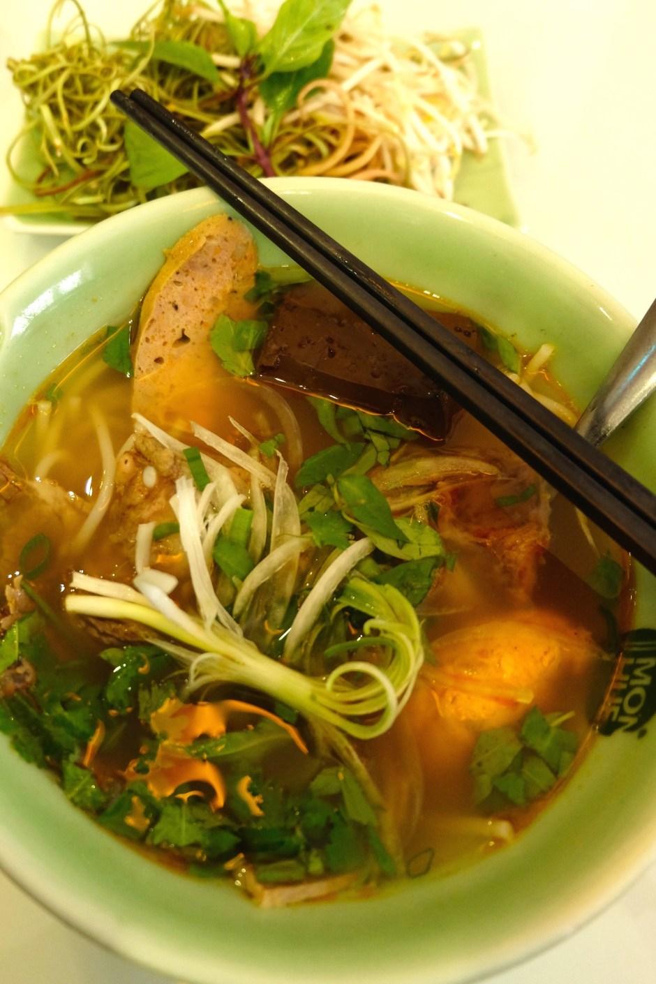 Bun Bo Hue in Mon Hue