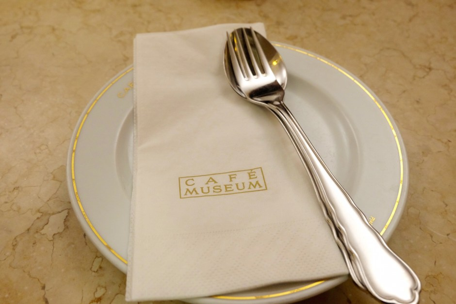 Cafe Museum cutlery