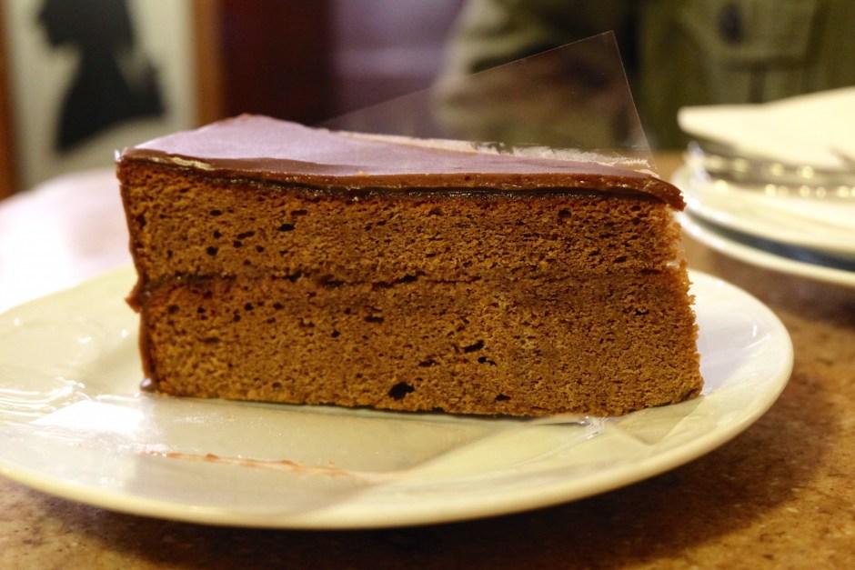 Sacher Torte Cafe Mozart