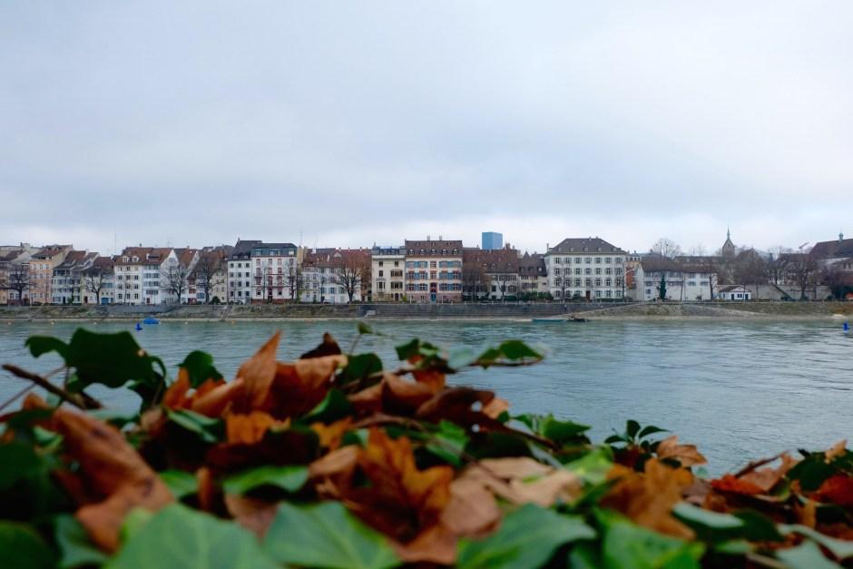House near Rhine river