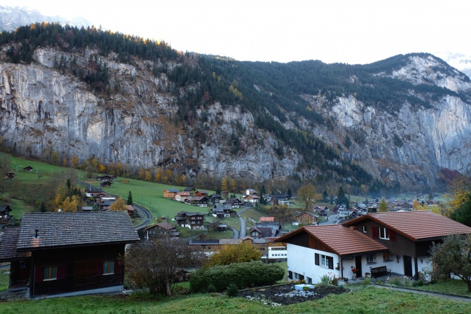 Houses in Lauterbrunnen