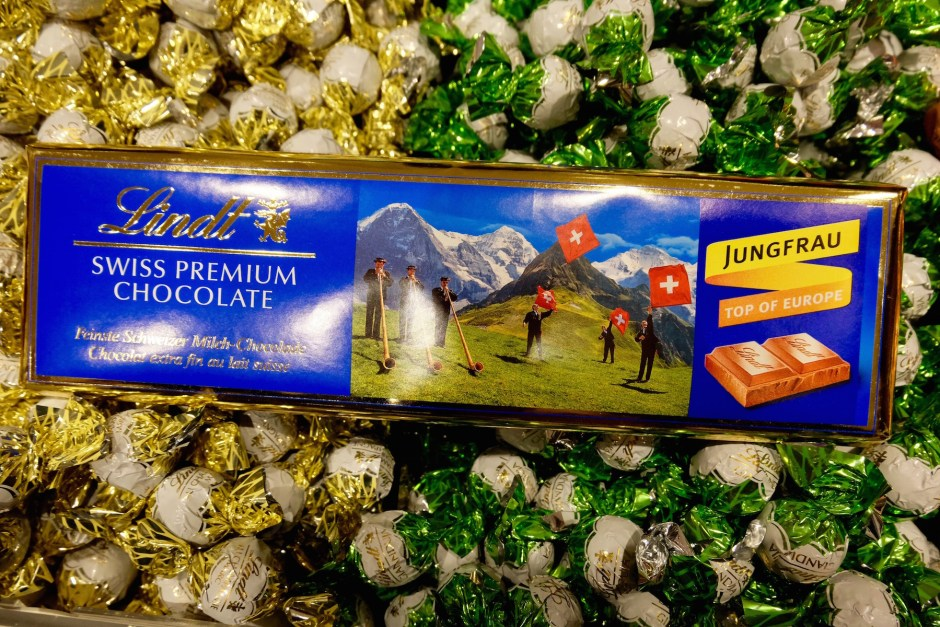 Lindt premium chocolate