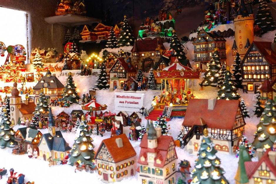 Miniature shop in Basel christmas market