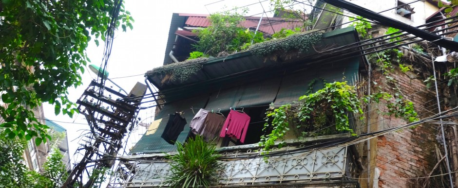 Old house in Hanoi