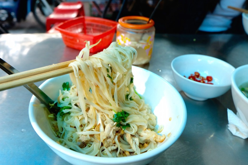 Pho Ga Tron in Hanoi