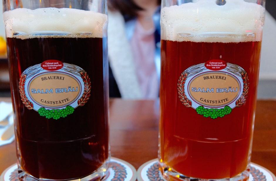 Salm Brau Beers