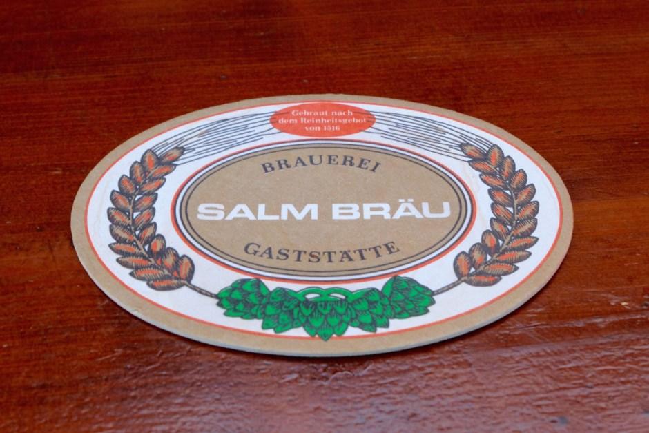 Salm Brau Coaster