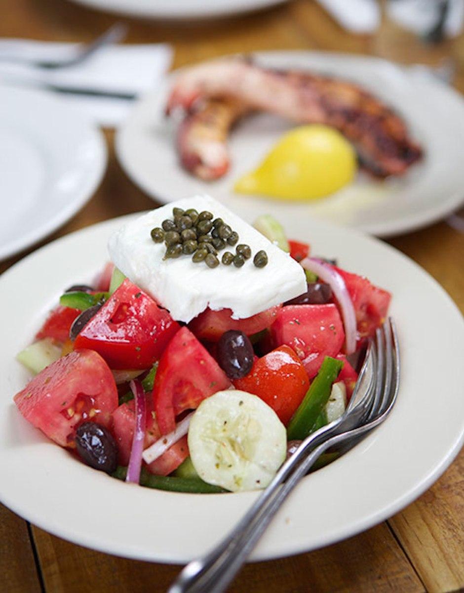 mandolin greek salad
