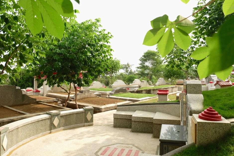 Graveyard in Jember