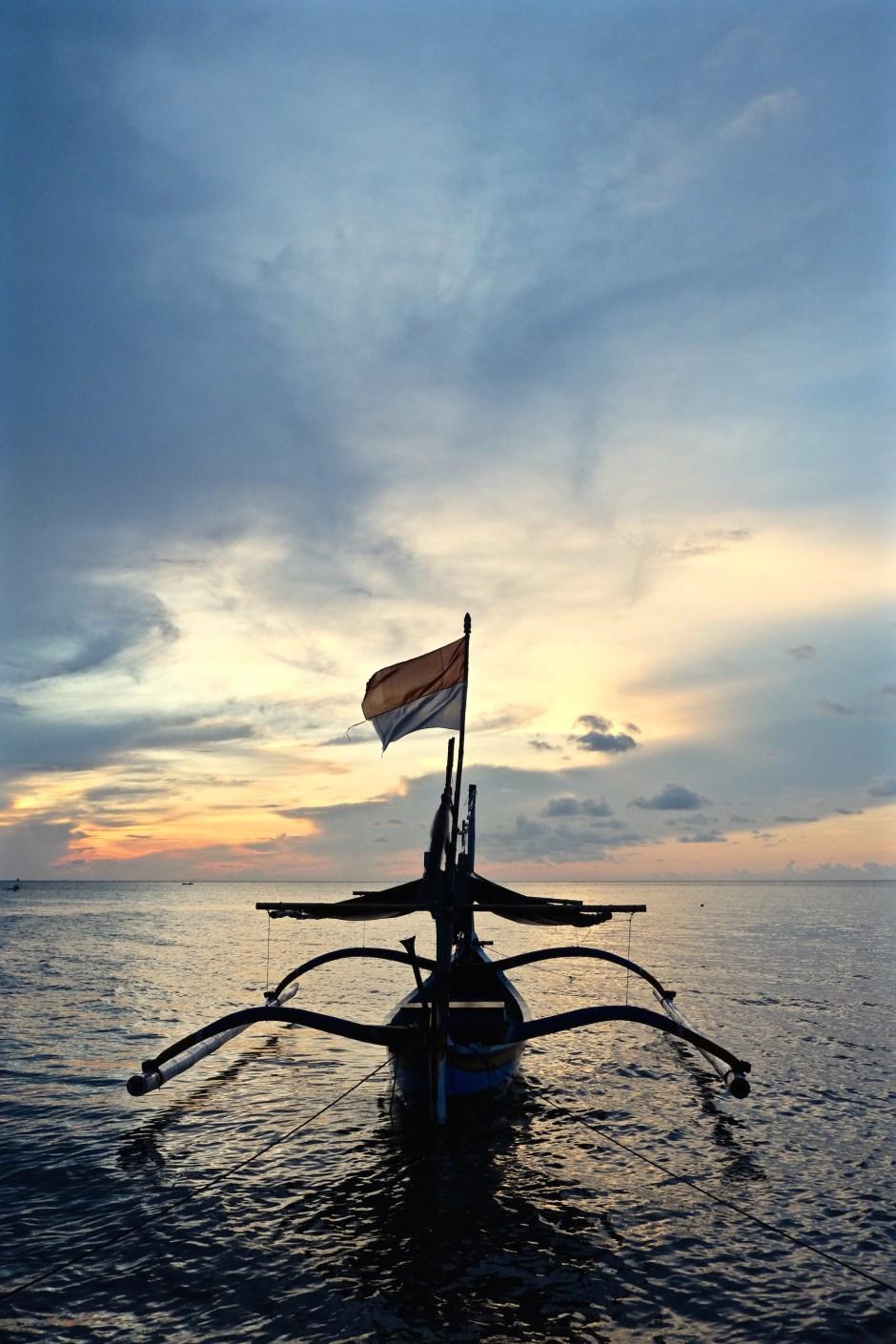 Indonesian Flag Portrait