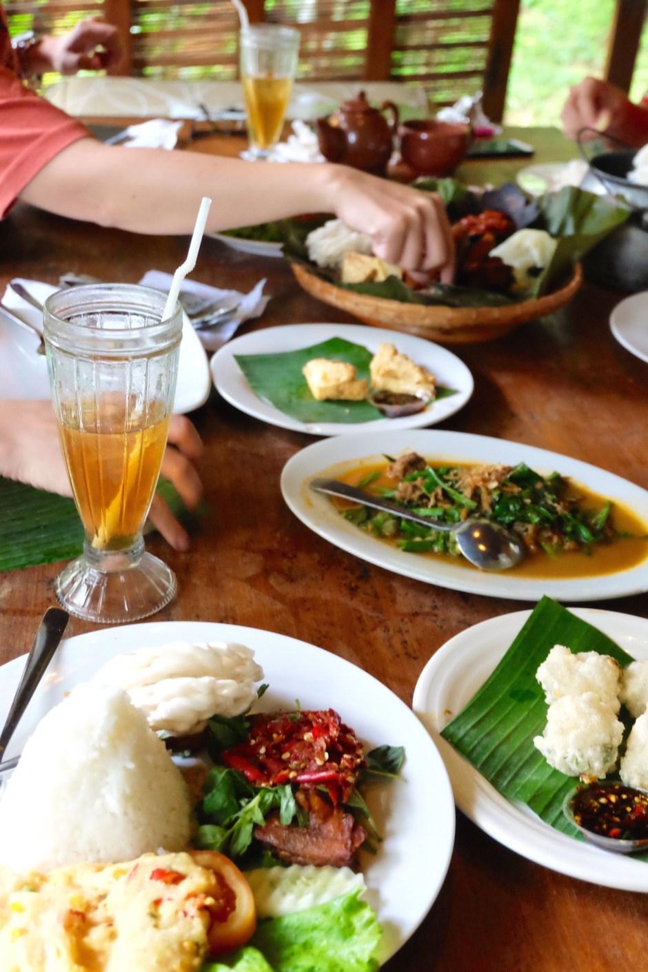 Lunch at Kampung Daun