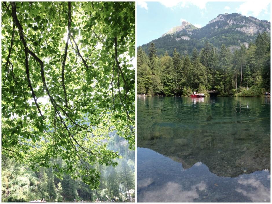 Lake Blausee pics