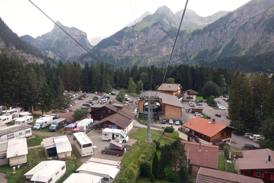 Cablecar to Oeschinensee