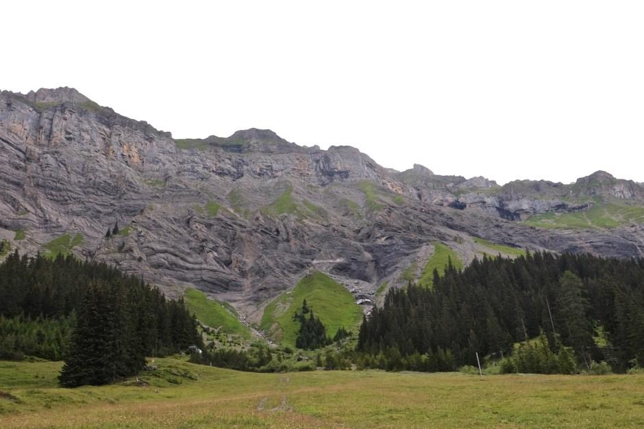 view to lake oeschinen