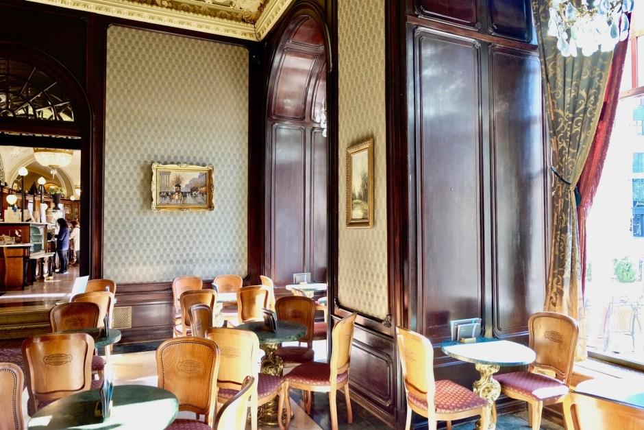 Cafe Gerbeaud Budapest Interior