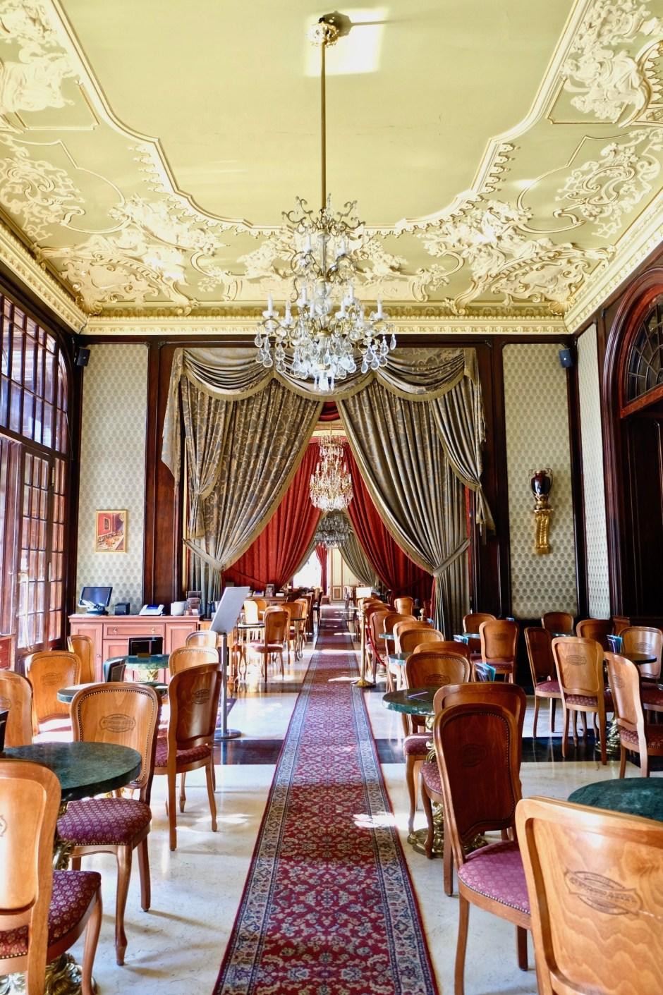 Cafe Gerbeaud interior design