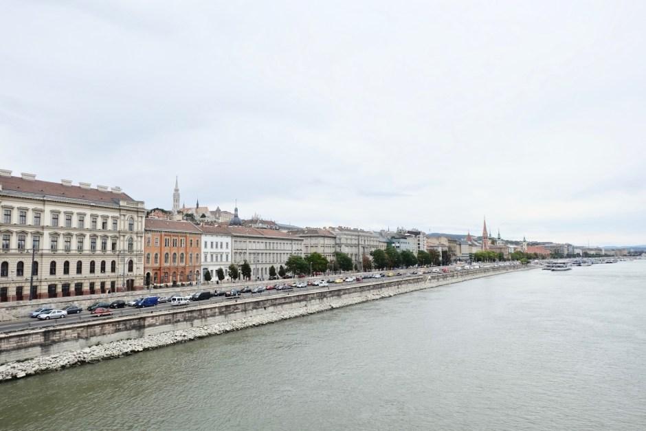 Danube River and Buda side