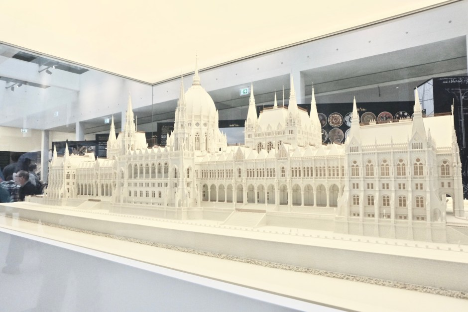 Hungarian Parliament Building Miniature