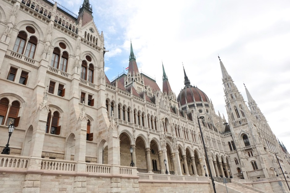 Hungarian Parliament Front side