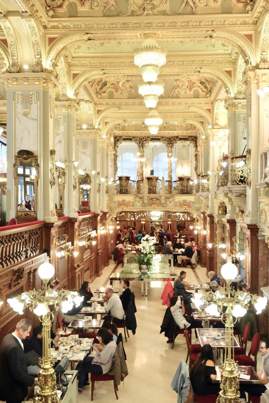 New York Cafe Budapest Interior