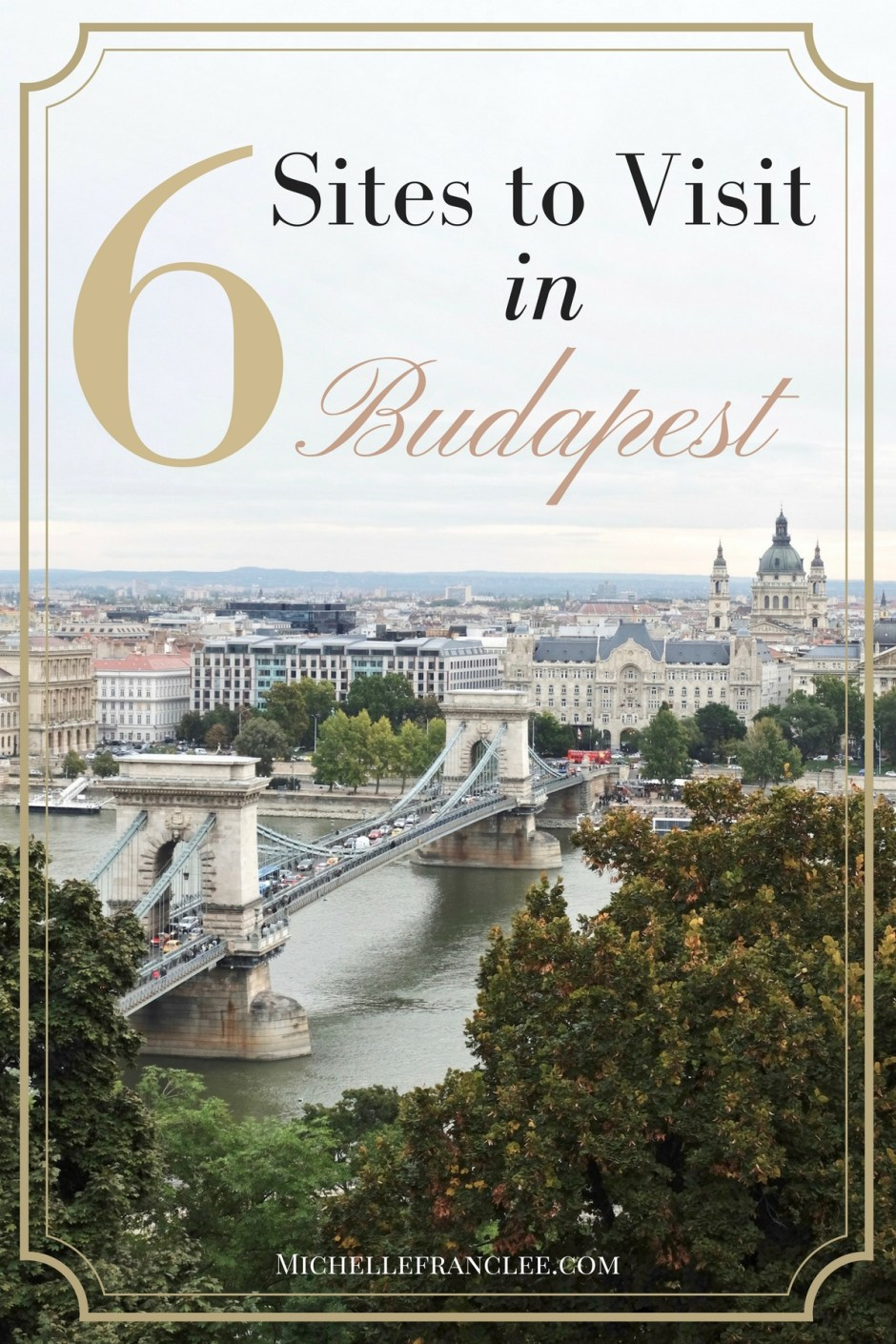 6 sites to visit in Budapest