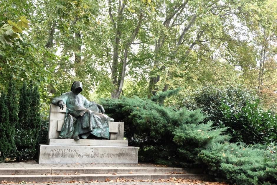 Anonymus Statue Budapest