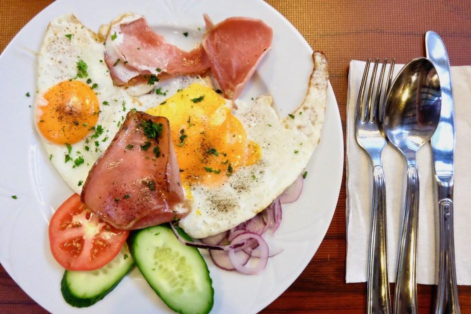 Breakfast at Fakanal Budapest