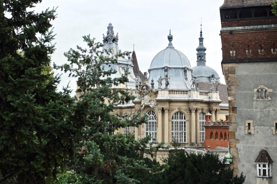 Hungary Budapest Vajdahunyad Castle