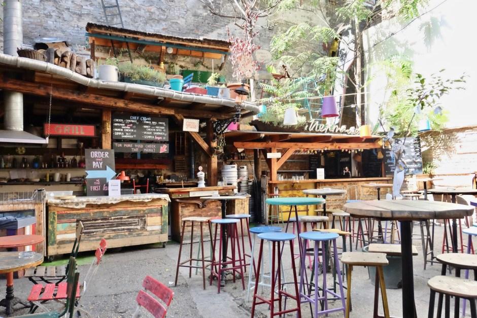 Szimpla Kert Ruin Bar Hungary