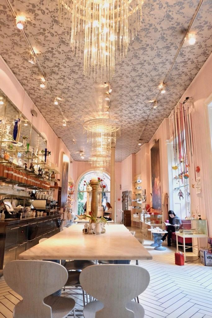 Royal Smushi Cafe Interior