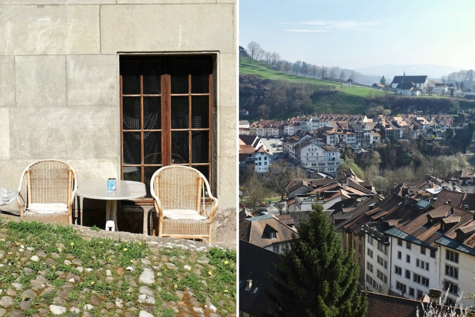 Fribourg Old town swiss