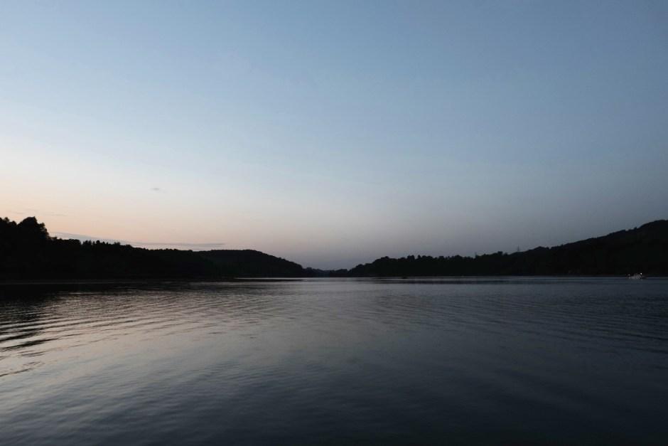 Lake Gruyere Sunset