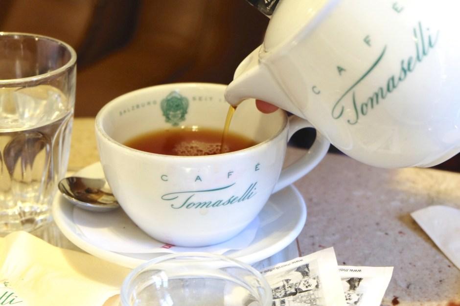 Tea Cafe Tomaselli Salzburg