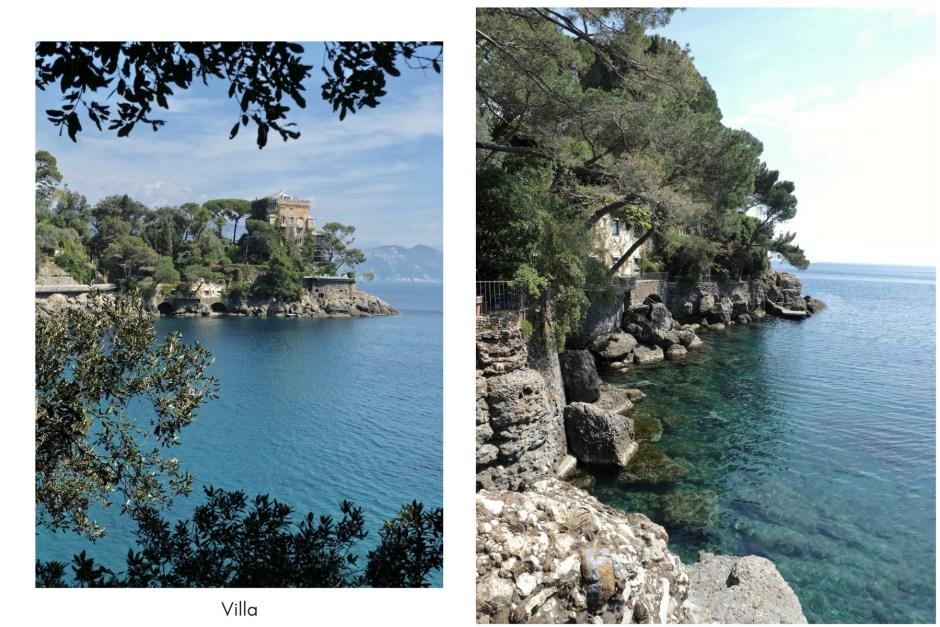 Villa Portofino italian coast