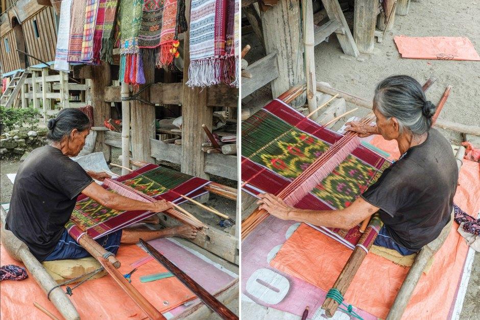 Samosir Weaving Ulos Fabric Batak