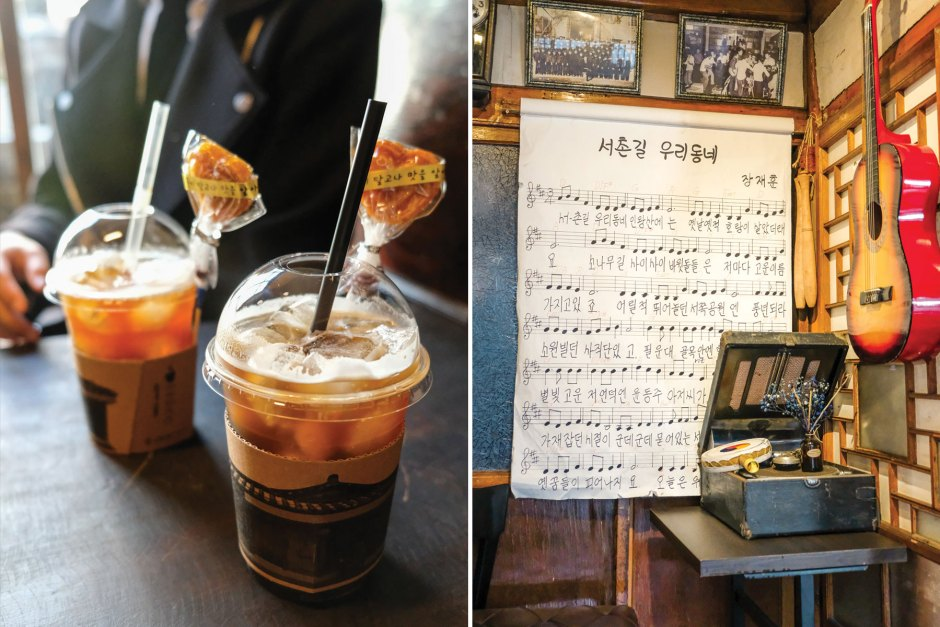 Dae Oh bookstore cafe in seoul travel