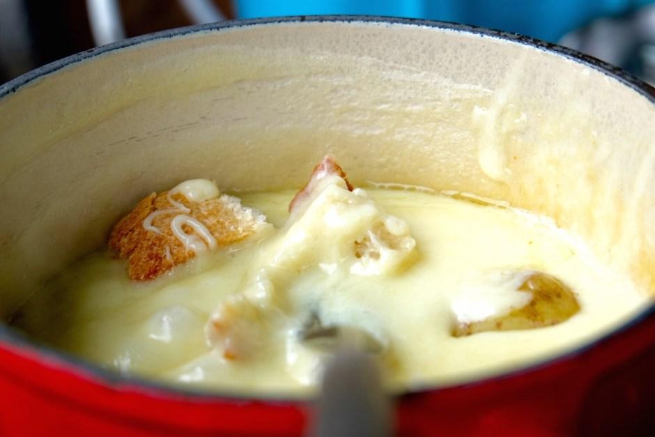 Cheese Fondue Gruyeres