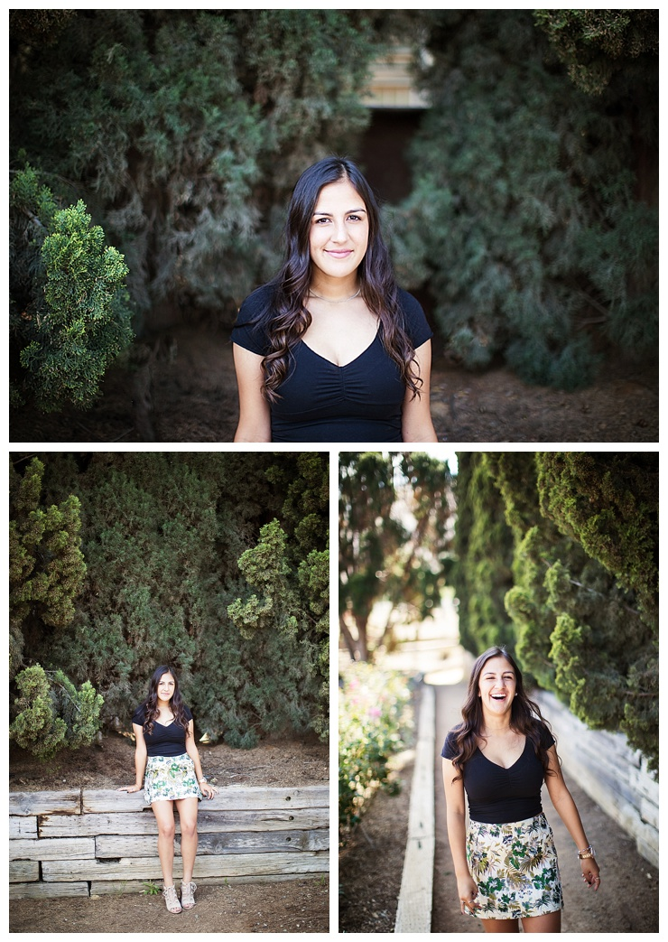 riverside senior pictures at UCR Botanical Gardens by www.MichelleGiffordPhotography.com