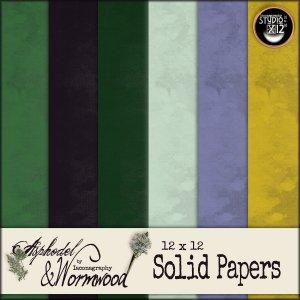 asphodelandwormwoodsolidpaperdisplay